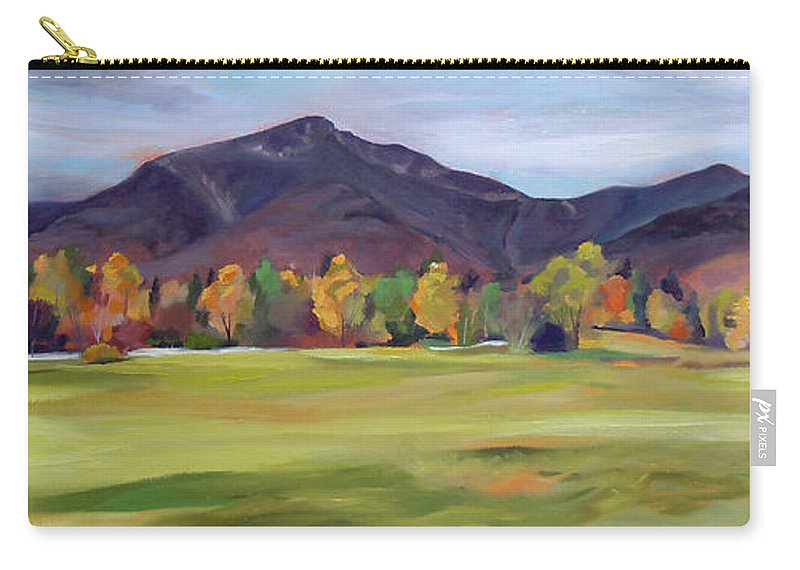 Mountains Carry-all Pouch featuring the painting Mount Osceola New Hampshire by Nancy Griswold