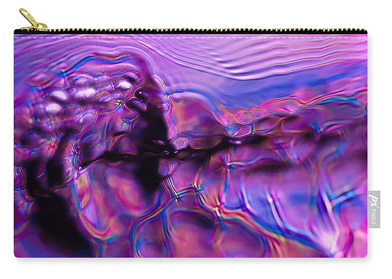 Abstract Carry-all Pouch featuring the photograph Mount Purple by Anthony Sacco
