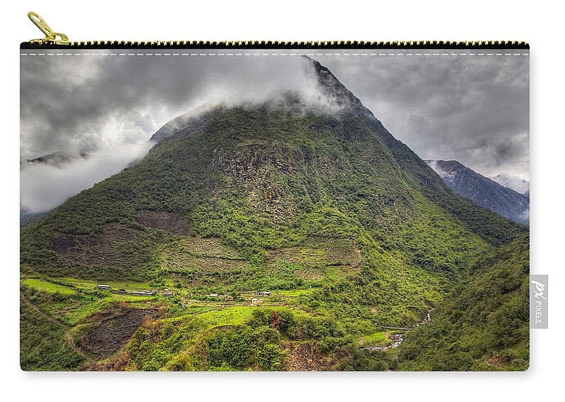 Mountain Carry-all Pouch featuring the photograph Mountain by Alexey Stiop