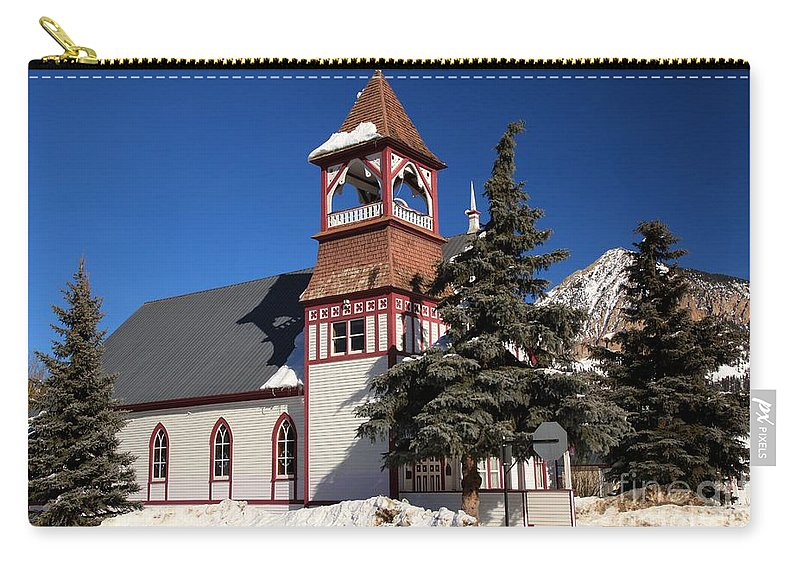 Crested Butte Carry-all Pouch featuring the photograph Mountain Worship by Adam Jewell
