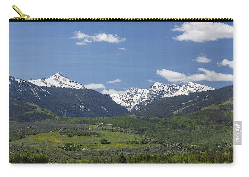 Grouse Carry-all Pouch featuring the photograph Mountains Co Grouse - New York 2 by John Brueske