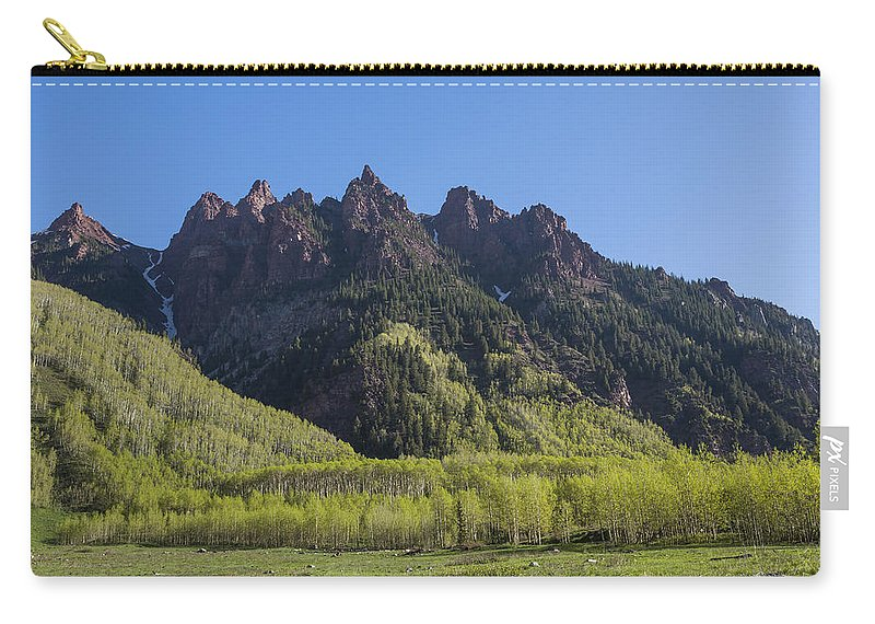 Sievers Carry-all Pouch featuring the photograph Mountains Co Sievers 2 A by John Brueske