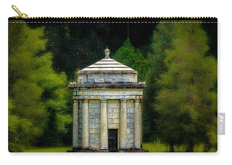 Mausoleum Carry-all Pouch featuring the photograph Mouseoleum by Chris Lord