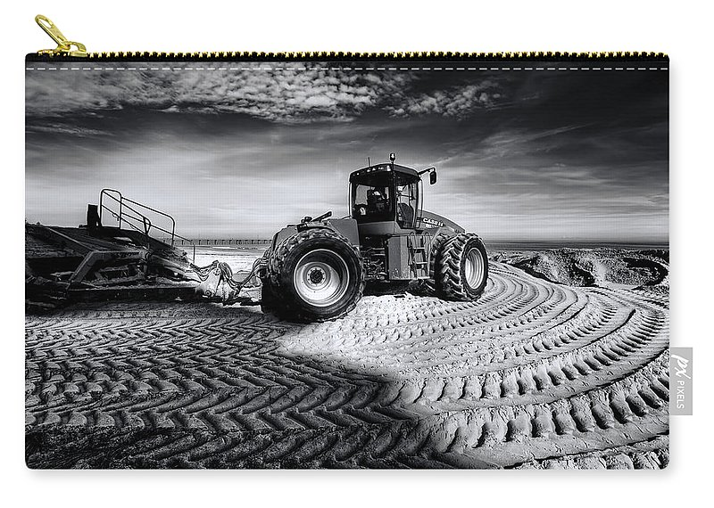 Dredge Carry-all Pouch featuring the photograph Moving Heaven And Earth by Wayne Sherriff