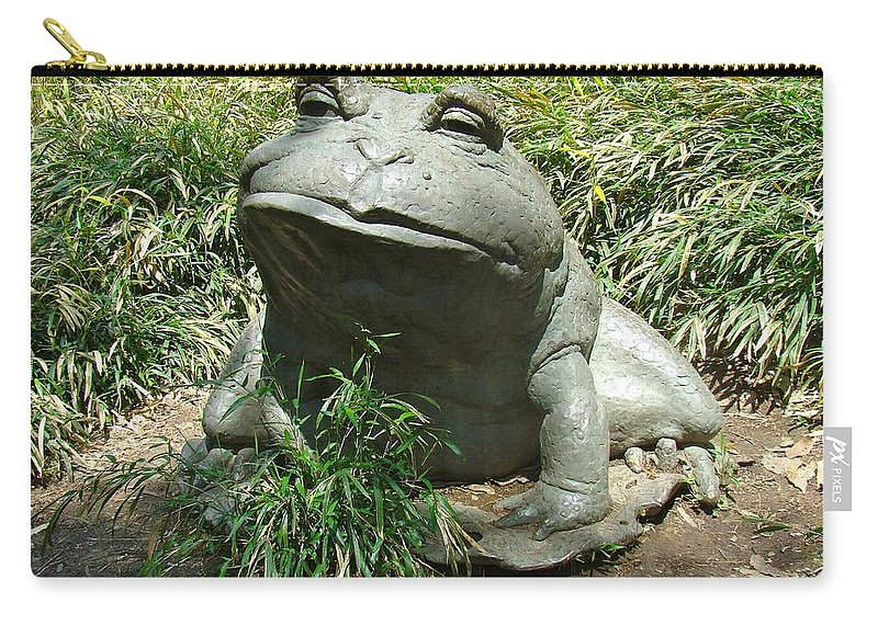 Toad Carry-all Pouch featuring the photograph Mr. Toad by Alice Gipson