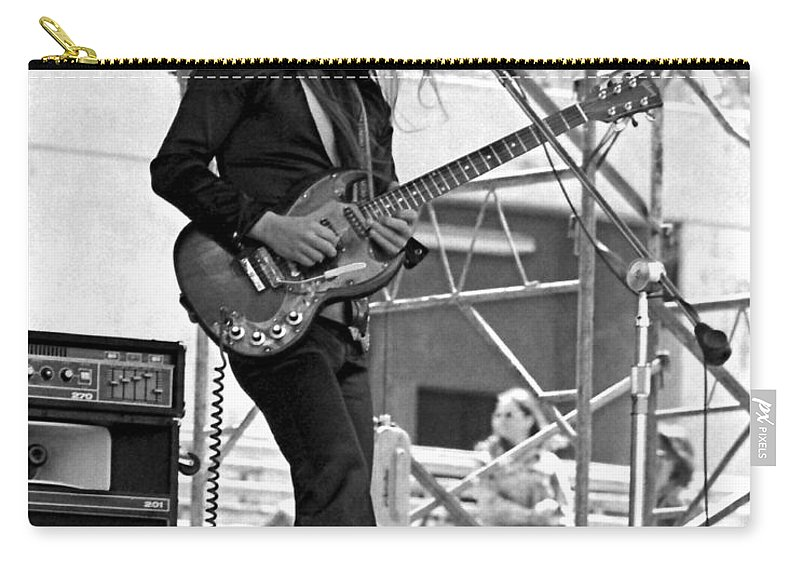 Frank Marino Carry-all Pouch featuring the photograph Mrdog #26 Crop 2 by Ben Upham