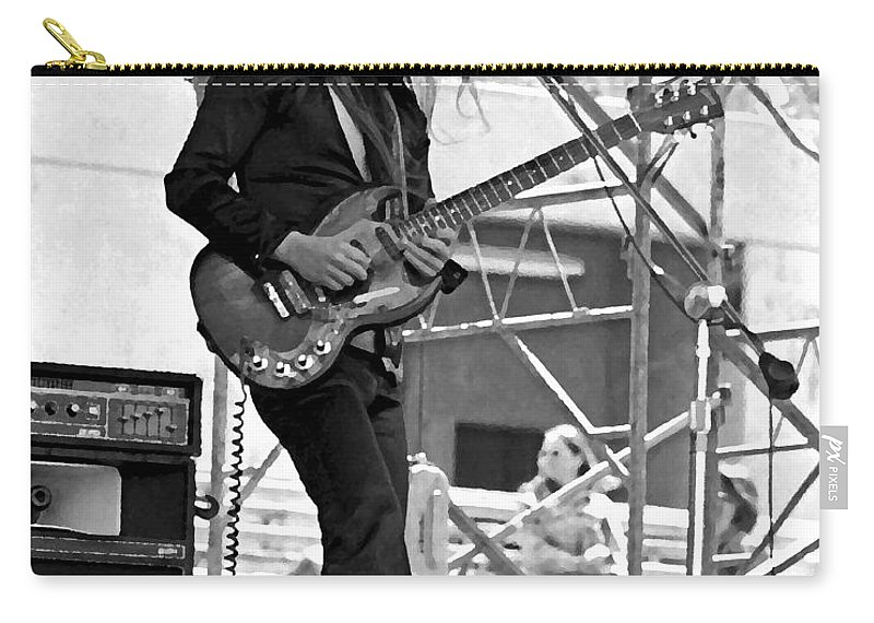 Frank Marino Carry-all Pouch featuring the photograph Mrdog #26 Enhanced Image by Ben Upham
