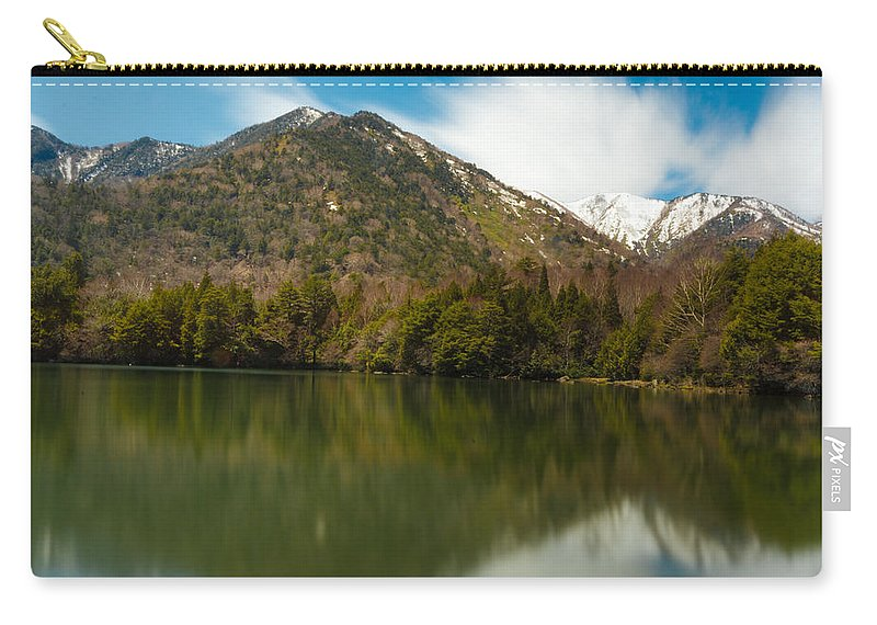Japan Carry-all Pouch featuring the photograph Mt. Mitsudake by Jonah Anderson
