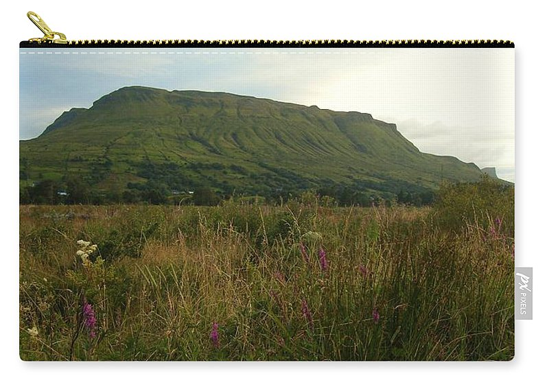 Muckrum Carry-all Pouch featuring the photograph Muckrum Leitrim County Leitrim Ireland by Louise Macarthur Art and Photography