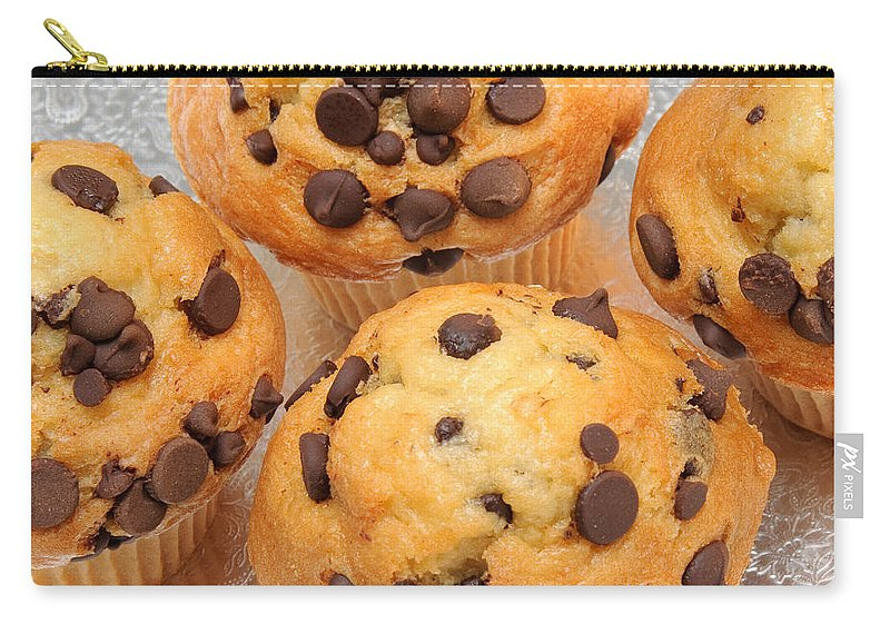Cupcake Carry-all Pouch featuring the photograph Muffin Tops 2 by Andee Design