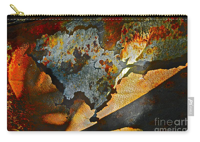 Muffler Carry-all Pouch featuring the photograph Muffler Picking by Gwyn Newcombe