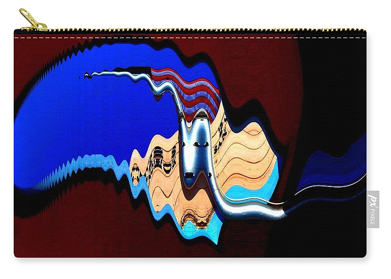 Flag Carry-all Pouch featuring the photograph Multicultural American Flag by Cj Carroll