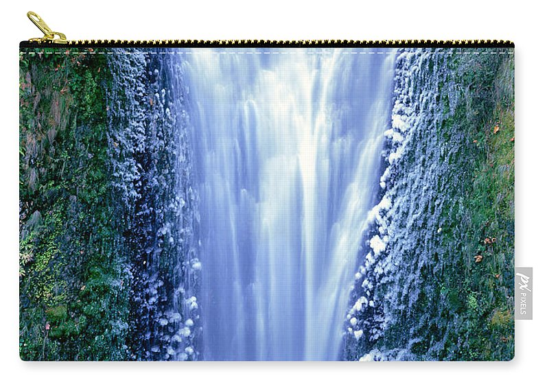 North America Carry-all Pouch featuring the photograph Multnomah Falls Columbia River Gorge Oregon by Dave Welling
