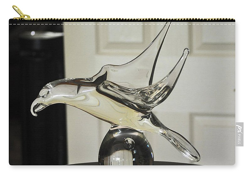Bird Carry-all Pouch featuring the photograph Murano Eagle by Jay Milo