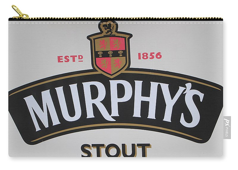 Drink Carry-all Pouch featuring the photograph Murphy's Stout by Ericamaxine Price