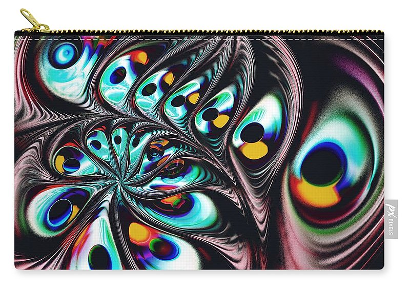 Computer Carry-all Pouch featuring the digital art Music Factory by Anastasiya Malakhova