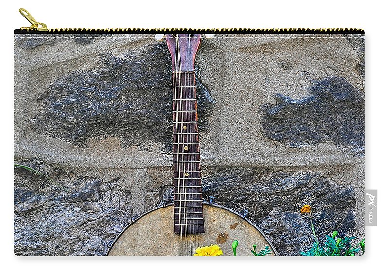 Musical Carry-all Pouch featuring the photograph Musical Garden by Bill Cannon