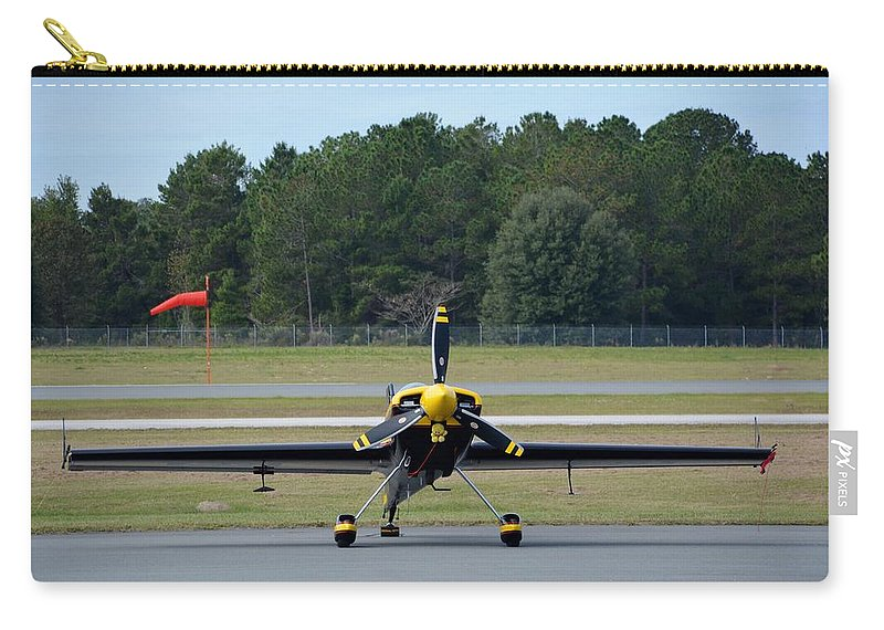 Mx Aircraft Mx2 Carry-all Pouch featuring the photograph MX2 by Matt Abrams
