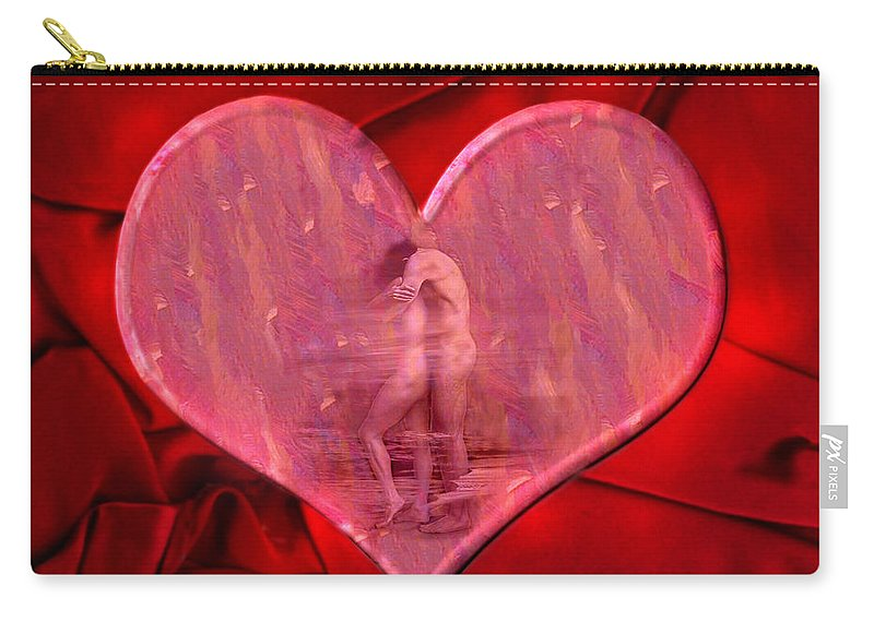 Lovers Carry-all Pouch featuring the photograph My Heart's Desire 2 by Kurt Van Wagner