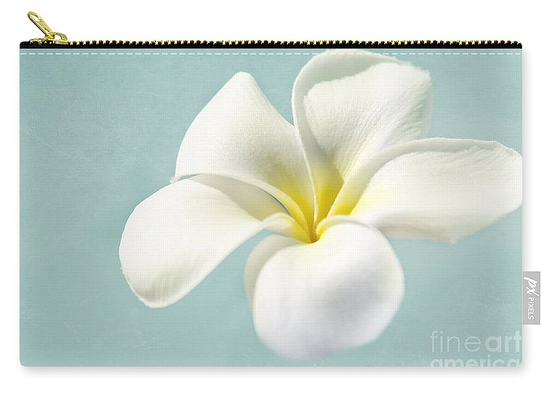Plumeria Carry-all Pouch featuring the photograph My Hope Carries Me . . . by Sharon Mau