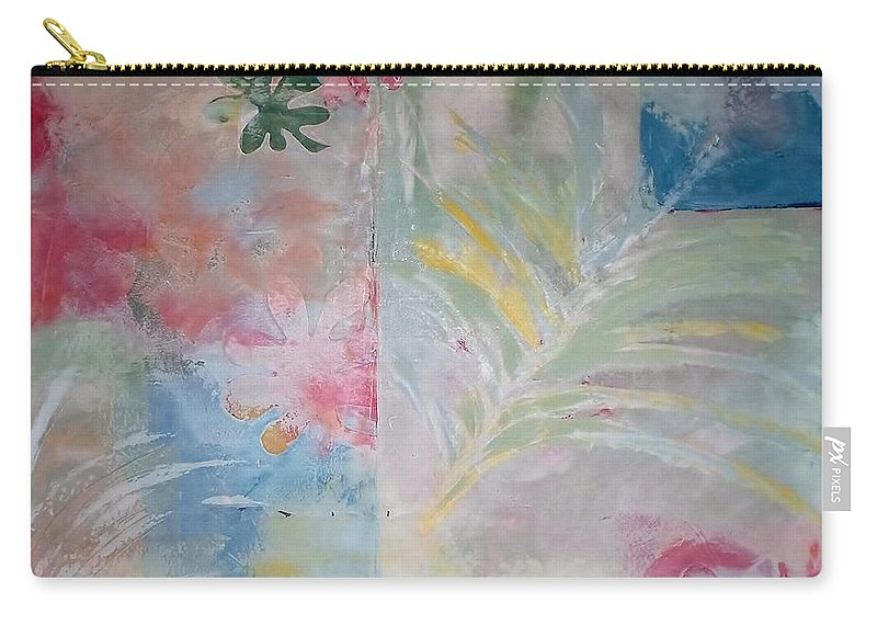 Abstract Carry-all Pouch featuring the painting My Matisse by Catherine JN Christopher