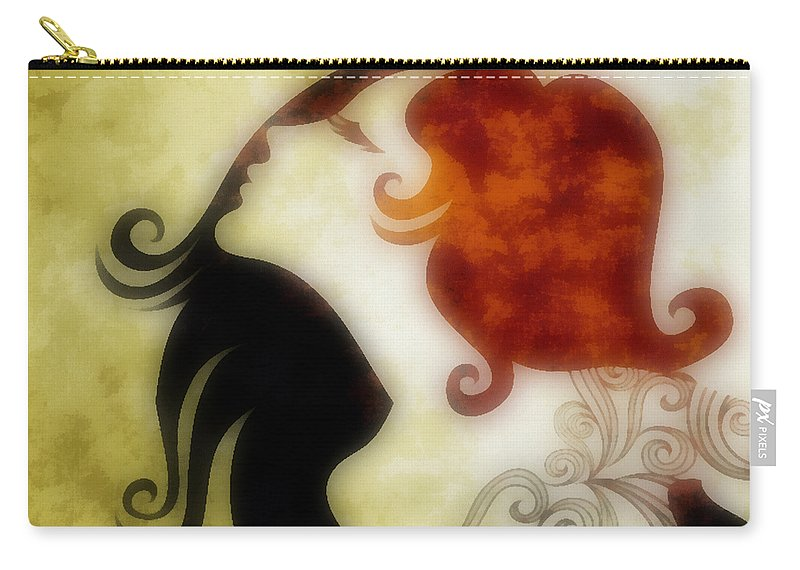 Wonder Carry-all Pouch featuring the digital art My Prince Will Come For Me 1 by Angelina Vick