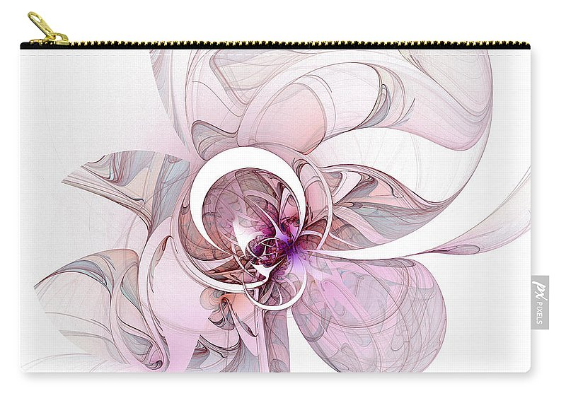 Digital Art Carry-all Pouch featuring the digital art Mysterious by Amanda Moore