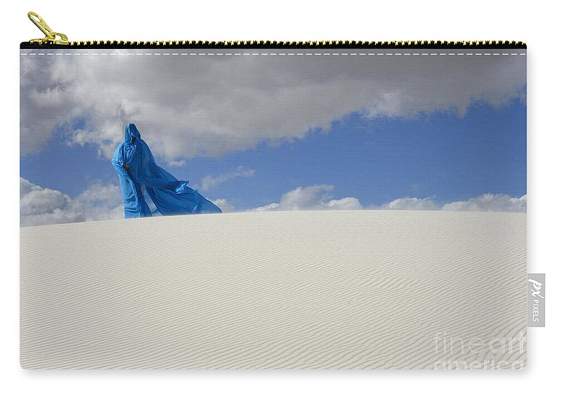 Dream Carry-all Pouch featuring the photograph Mystic Blue 10 by Bob Christopher