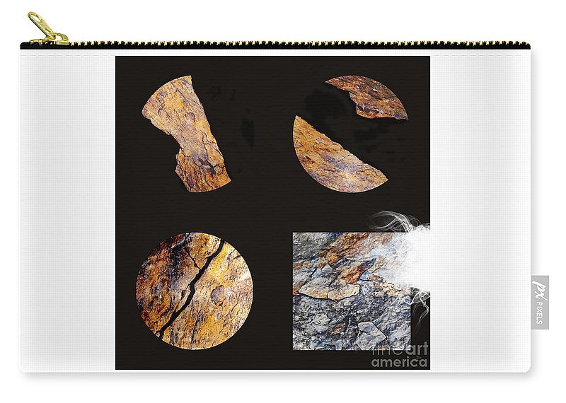 Fracture Carry-all Pouch featuring the photograph Mystic Fractures II by Paul Davenport