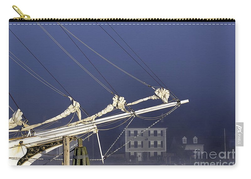 Tall Carry-all Pouch featuring the photograph Mystic Morning by Joe Geraci