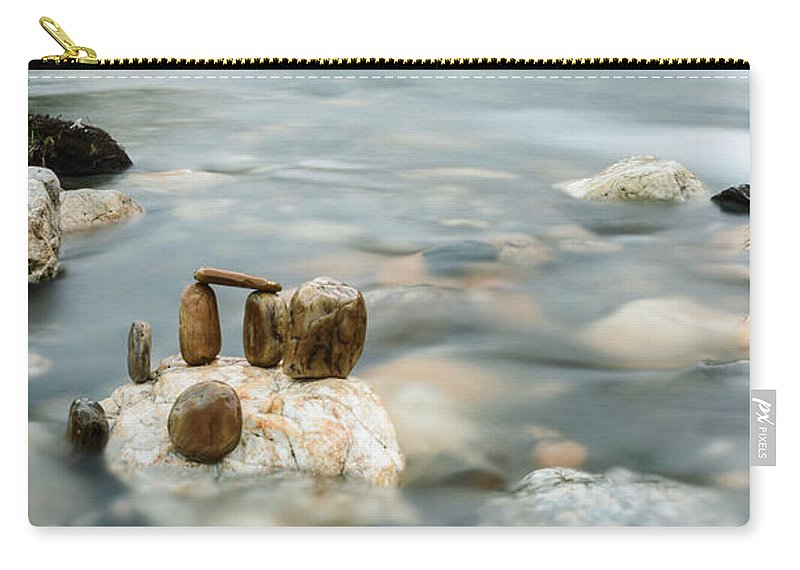 River Carry-all Pouch featuring the photograph Mystic River II by Marco Oliveira