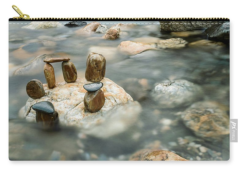 River Carry-all Pouch featuring the photograph Mystic River IIi by Marco Oliveira