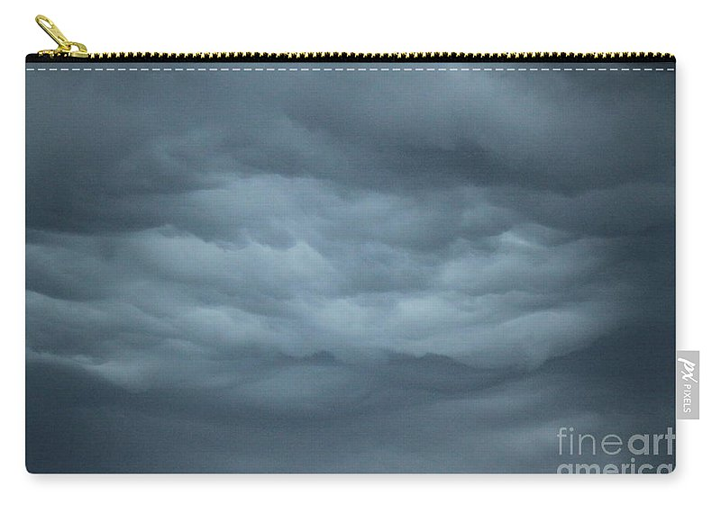 Carry-all Pouch featuring the photograph Mystical Clouds by Jennifer E Doll