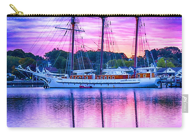 Mystic Carry-all Pouch featuring the photograph Mystic's Mystic by Joe Geraci