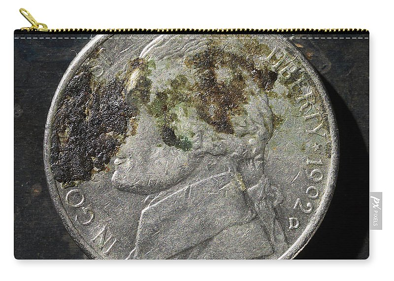 Americana Carry-all Pouch featuring the photograph N 1992 A H by Robert Mollett