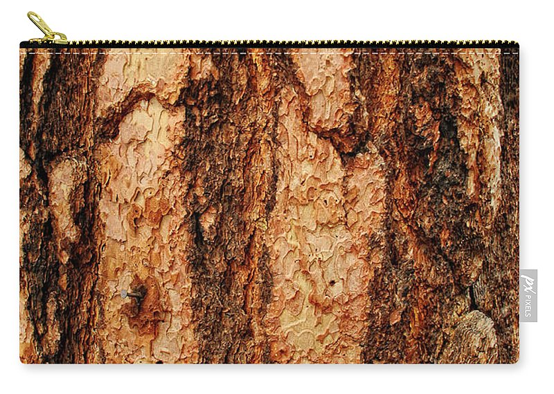 Tree Carry-all Pouch featuring the photograph Nailed by Donna Blackhall