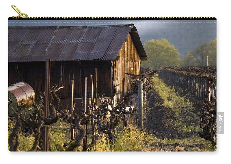 Napa Carry-all Pouch featuring the photograph Napa Morning by Bill Gallagher