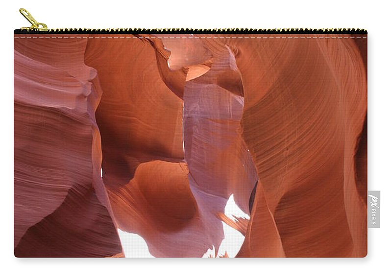 Canyon Carry-all Pouch featuring the photograph Narrow Canyon Xiii by Christiane Schulze Art And Photography