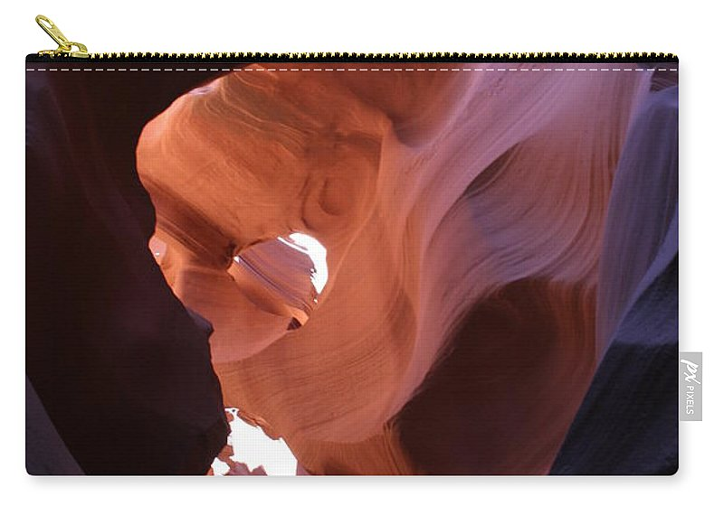 Canyon Carry-all Pouch featuring the photograph Narrow Canyon Xv by Christiane Schulze Art And Photography