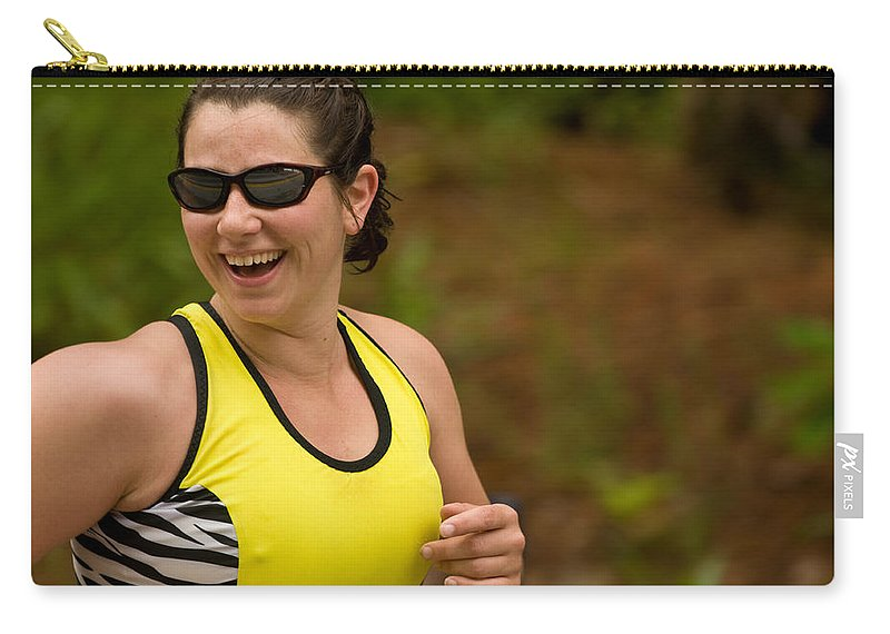 Carry-all Pouch featuring the photograph Nashua Sprint Y-tri Entertained by Paul Mangold