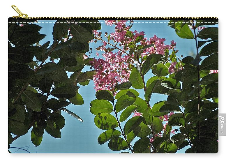 Flowers Carry-all Pouch featuring the photograph Nashville Flowers by Joseph Yarbrough