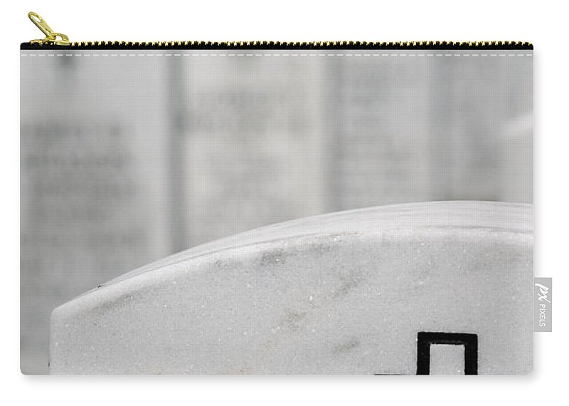 Aligned Carry-all Pouch featuring the photograph National Cemetery Of The Alleghenies by Amy Cicconi