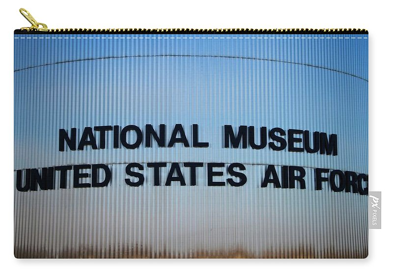 National Museum United States Air Force Carry-all Pouch featuring the photograph National Museum United States Air Force by Dan Sproul