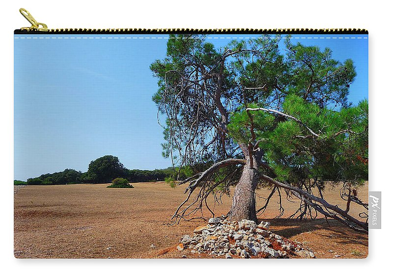 Brijuni Carry-all Pouch featuring the photograph National Park Islands Of Brijuni by Brch Photography