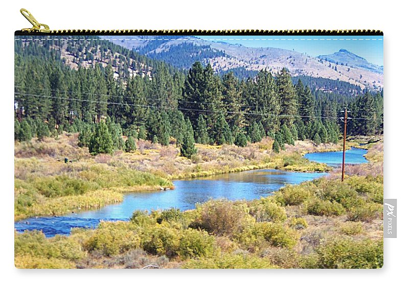 Acrylic Prints Carry-all Pouch featuring the photograph Natural Beauty by Bobbee Rickard