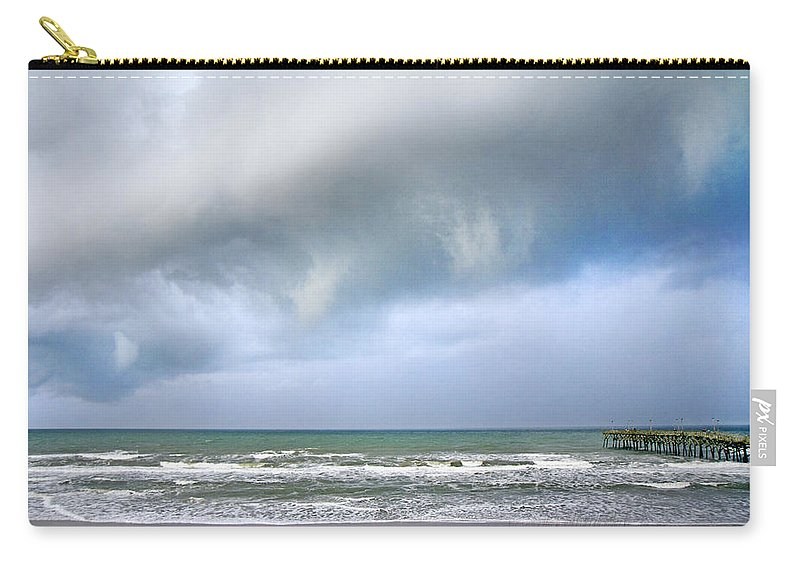 Topsail Carry-all Pouch featuring the photograph Nature At Its Best by Betsy Knapp
