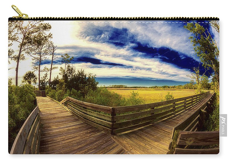 Florida Carry-all Pouch featuring the photograph Nature Preserve by Raul Rodriguez