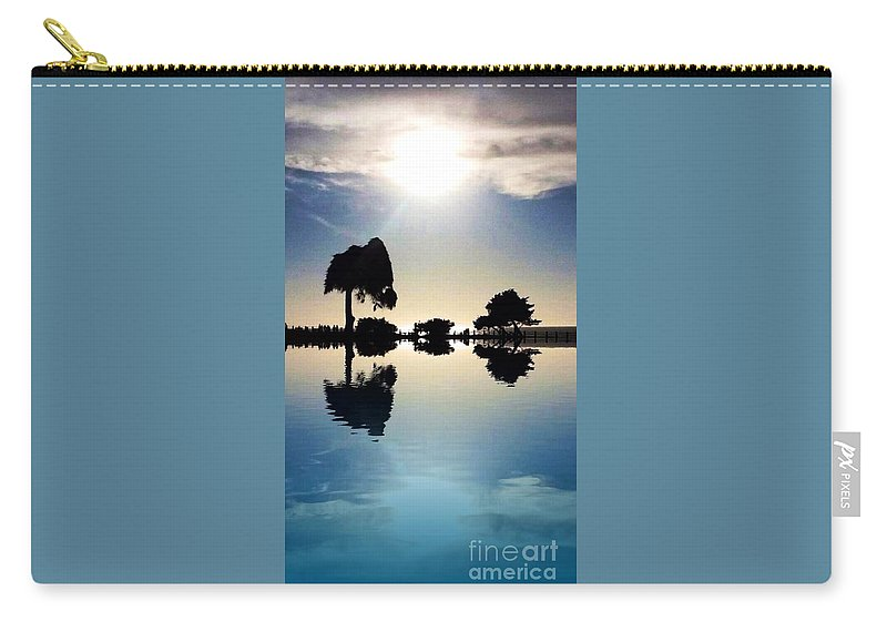 Nature Simplicity Carry-all Pouch featuring the photograph Nature Simplicity by Susan Garren