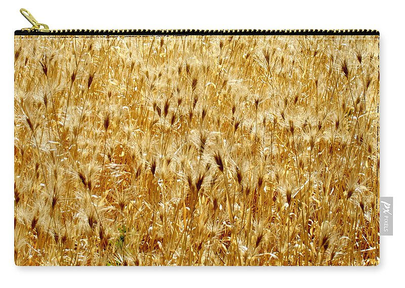Barn Photographs Carry-all Pouch featuring the photograph Natures Congestion by Mayhem Mediums