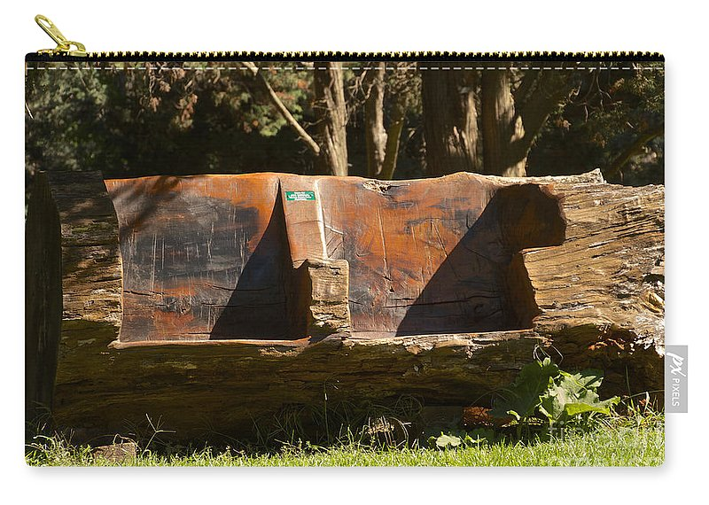 Lounge Carry-all Pouch featuring the photograph Natures Lounge by William Norton
